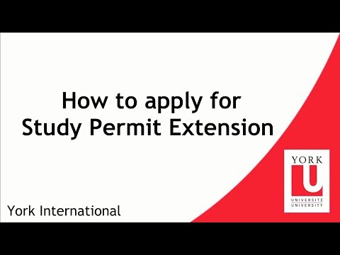 How To Apply For Study Permit Extension