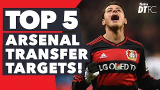 Top 5 Players Arsenal NEED! | January Transfer Window 2016