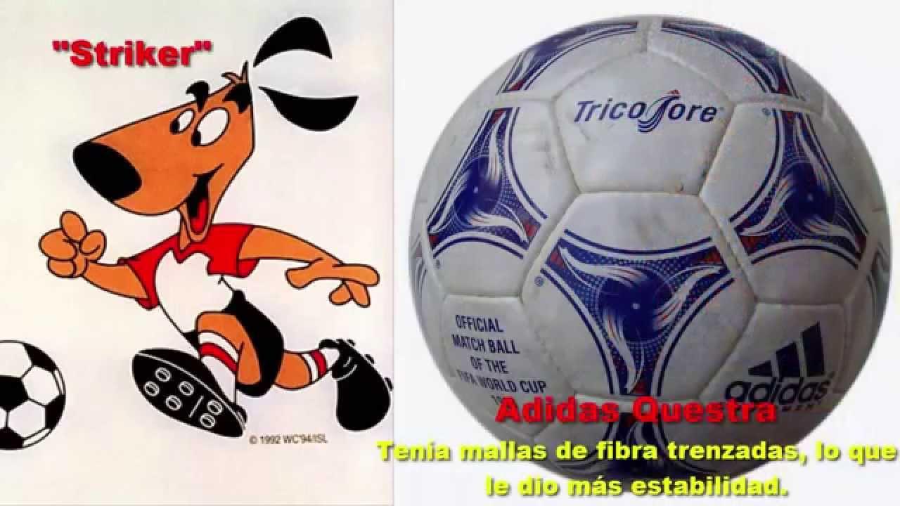 875063c43333c balones y mascotas oficiales de los mundiales de futbol seleccion campeona  youtube with logos de balones
