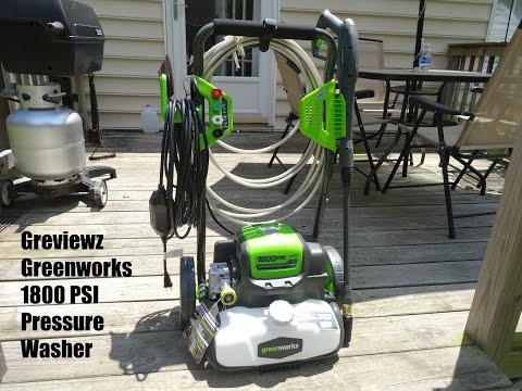 Greenworks Pressure Washer Lowe S Unboxing First Use Doovi
