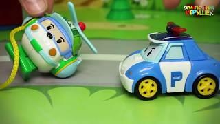 Мультики с игрушками  Робокар Полли! Самые интересные видео!