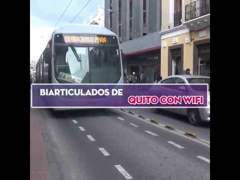 NEWS | QUITO, implementa WIFI en los Biarticulados