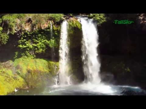 Virtual Hike: Two Beautiful Waterfalls on One Trail, 25min, Actual Sound (#5D)