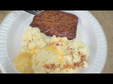 Mini Review: MRE Maple Sausage And Mountain House Raw Eggs