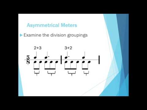 Introduction to Asymmetrical Meters