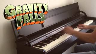 Gravity Falls Main Theme Finale Piano Cover