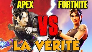APEX LEGENDS VS FORTNITE : LA VÉRITÉ
