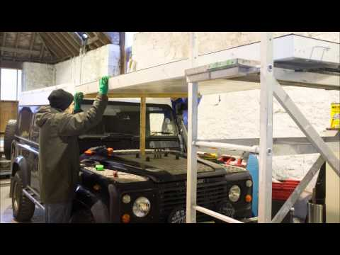Land Rover Roof Film