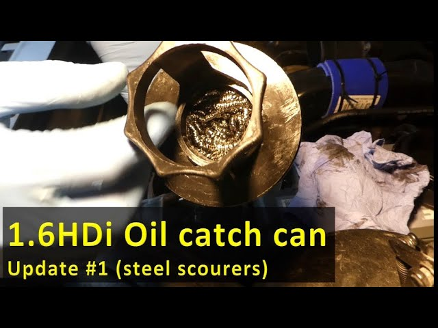 Oil catch can in 1 6HDi/TDCi collecting mainly water, Update #1