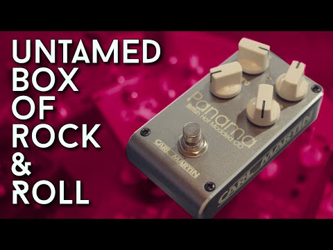 The BEST Modded Plexi Pedal? Carl Martin Panama Review