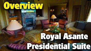 royal asante presidential suite   animal kingdom lodge