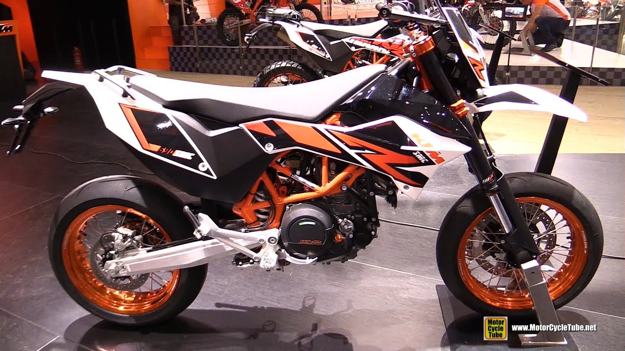 2016 ktm 690 smc r super mottard walkaround 2015 eicma milan youtube. Black Bedroom Furniture Sets. Home Design Ideas