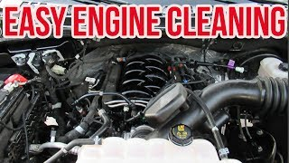 Download HOW TO CLEAN YOUR ENGINE - NO WATER NO SCRUBBING Mp3 and Videos