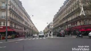 Uber ride - Quick sights of Paris
