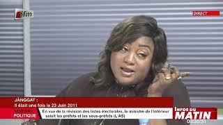 Janggat de Aissatou Diop Fall : il était une fois le 23 Juin 2011 dans Infos matin 23 06 2021
