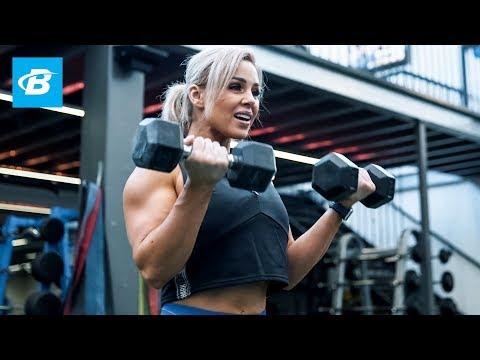 Strong Back & Shoulders Workout | Stephanie Sanzo, aka StephFitMum