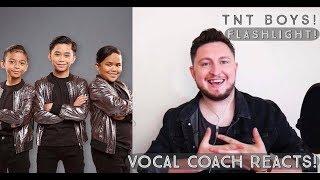 Vocal Coach Reacts! TNT Boys! Flashlight!