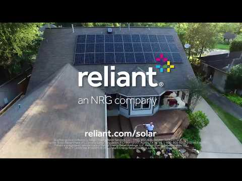 How does solar installation through Reliant work?