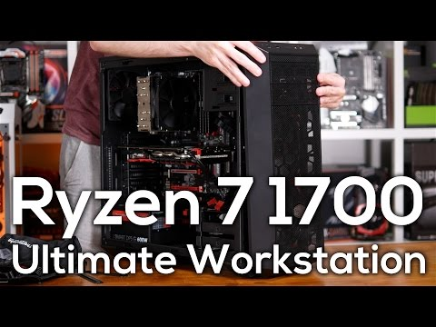 AMD Ryzen 7 1700: The Ultimate Workstation CPU? Tim's New PC!
