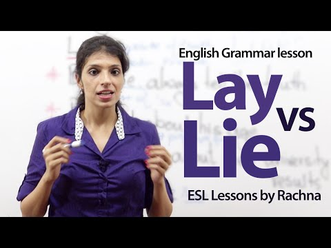 Lying down meaning in hindi