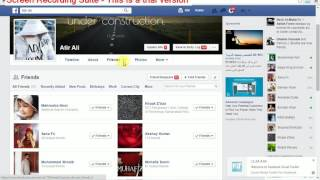 How to unfriend all facebook friends with one click