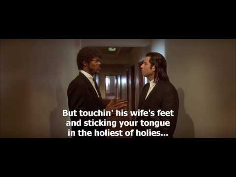 Pulp Fiction 1994 About foot massage