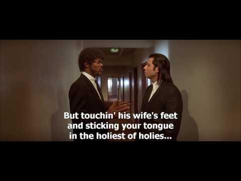 Pulp Fiction 1994 About foot massage