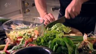 Острый говяжий салат