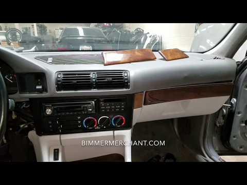 Dash Trim Climate Control Removal BMW E34 M5 540i 530i 535i