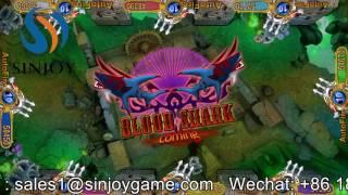 100% Profitable gunfire Green dragon fishing game software/fish hunting arcade machine