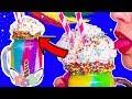 Радужная еда для единорога / Единорожковый коктейль 🐞 Afinka