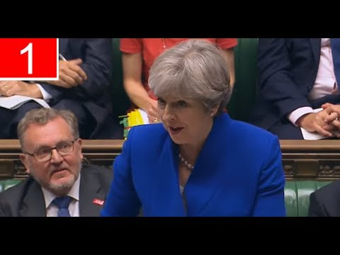 Theresa May holds last PMQs before summer recess (19Jul17)