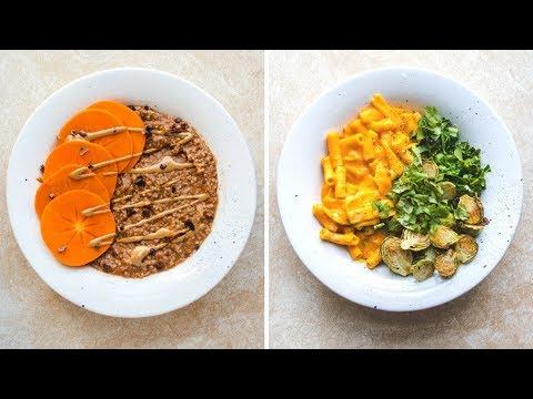 What I Ate Today // Vegan Butternut Squash Pasta Recipe!