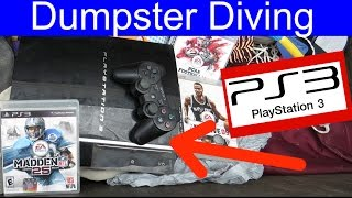 Dumpster Diving at Thrift Store #30 PlayStation 3