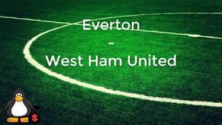 Everton - West Ham United / ENGLAND / PREMIER LEAGUE / 29.11.2017