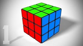 Photoshop Tutorial: Teil 1 - Erstellen einer 3-D, Rubik ' s Cube von Grund auf neu