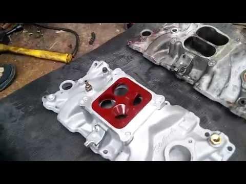 Sbc intake manifold differences part 2