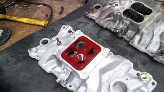 Sbc intake manifold differences part 2