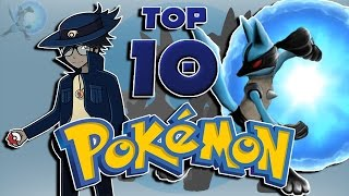 TheAuraGuardian's Top 10 Favorite Pokémon