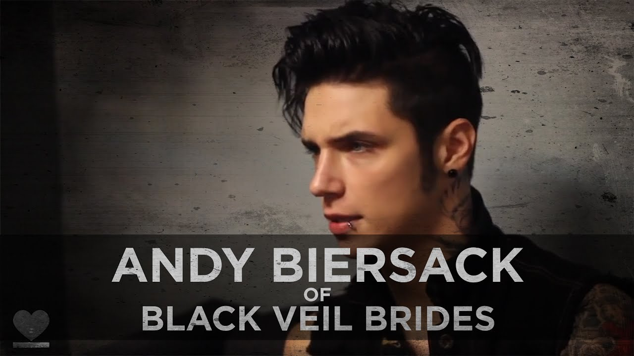 Brides black veil