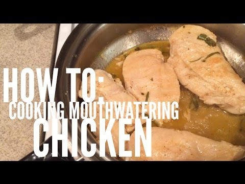 Easy And Simple White Wine Chicken Cooking Instructions For Men