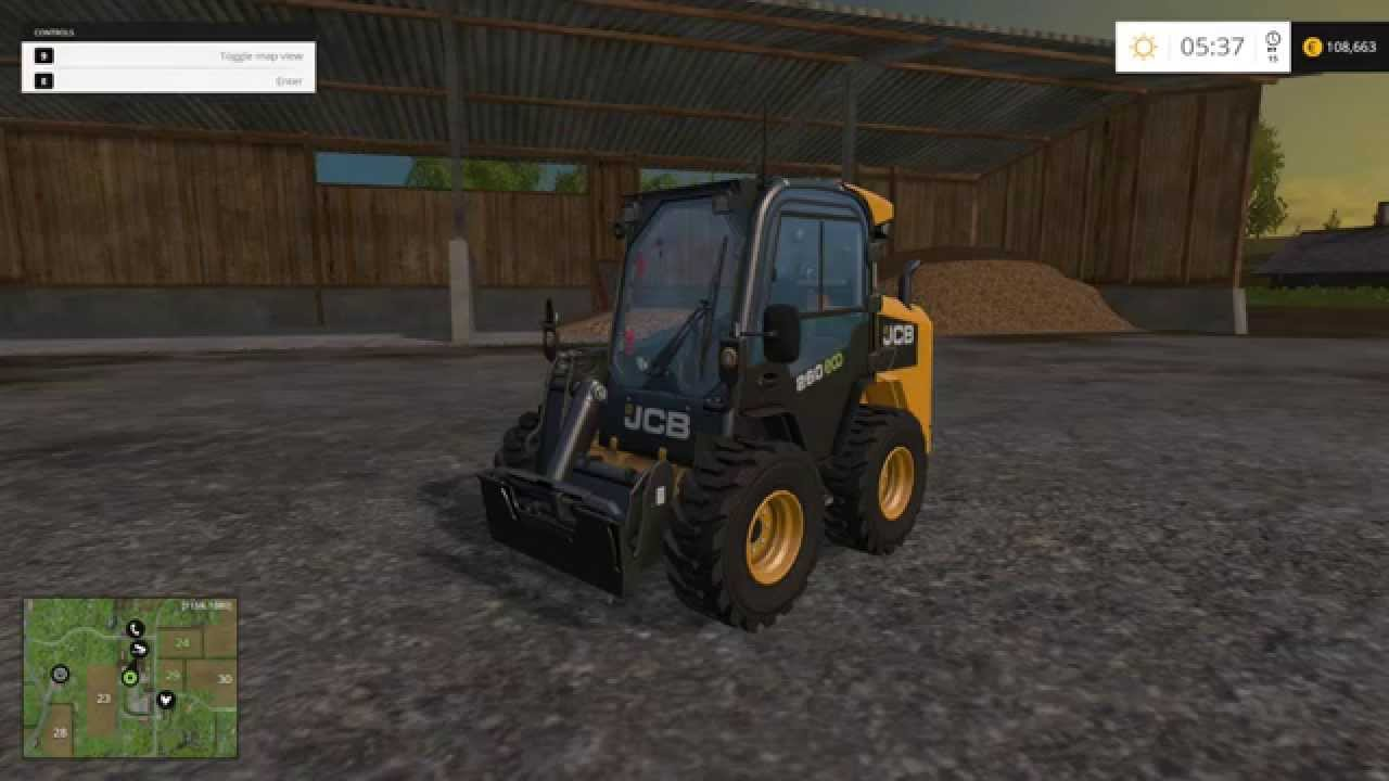 Farming Simulator 2015 - JCB DLC - JCB 260 Eco - Part 1 ...