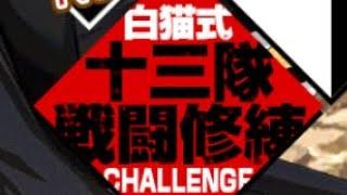 【白猫】三番隊修練場 ティナ(輝剣)【白猫式十三隊戦闘修練challenge】【BLEACHコラボ】