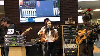 Fab Dupont Grammy Winning Engineer Live Tracking of Monsieur Perine with UAD Apollo X NAMM 2019