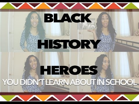 Black History Month Heroes - People I Didn't Learn About in School | EBE Films