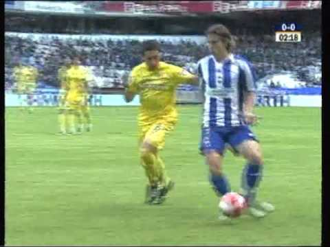 (Temporada 2007 - 2008) Partido Completo. Jornada 38. Deportivo 0 - Villarreal 2 (18/05/2008)