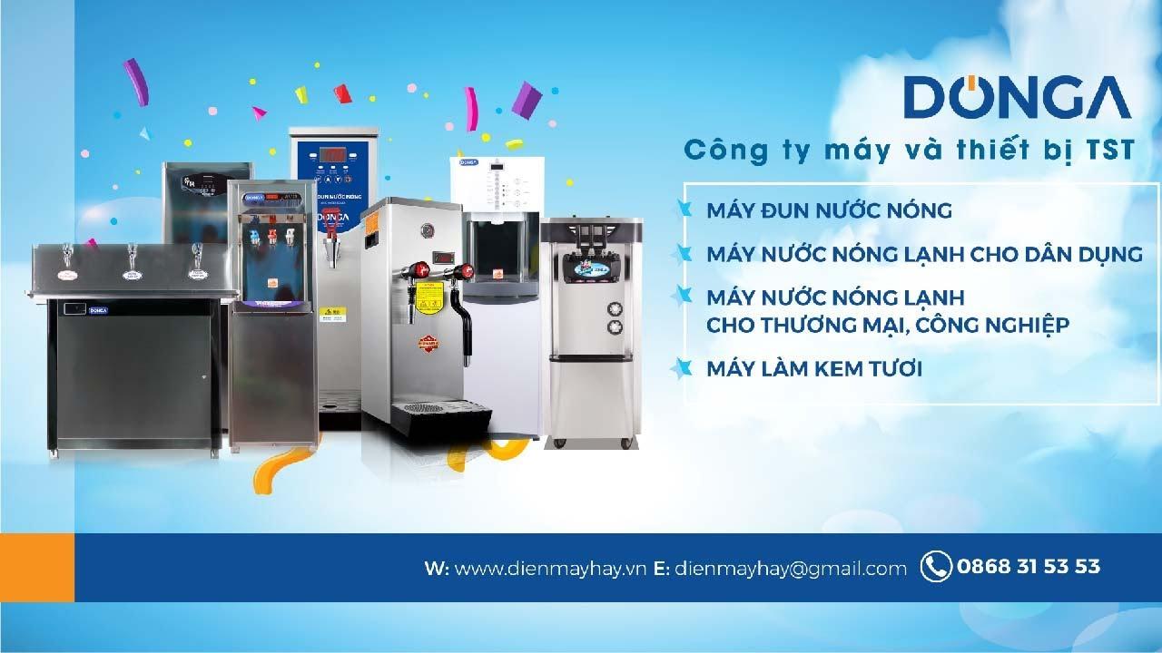 Giới Thiệu Công ty cổ phần máy và thiết bị TST & Thương hiệu sản phẩm DONGA