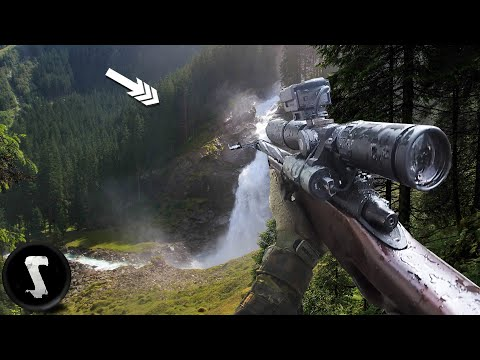 SUPER Long Range Airsoft Sniping (Mountain Sniper Mission)