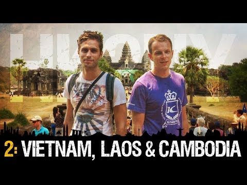 HK2NY Ep 2: Backpacking in Vietnam, Laos and Cambodia