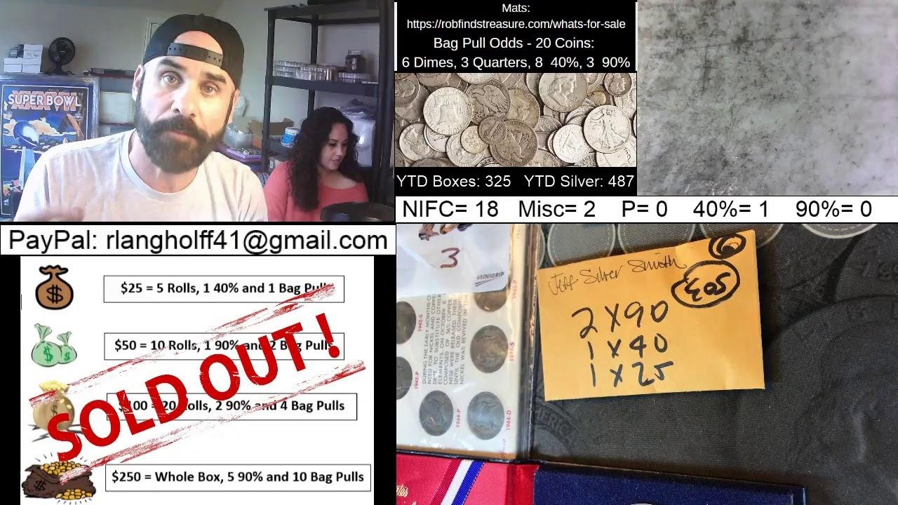 ?Wednesday #3 Half Dollar Hunt Live Stream 10